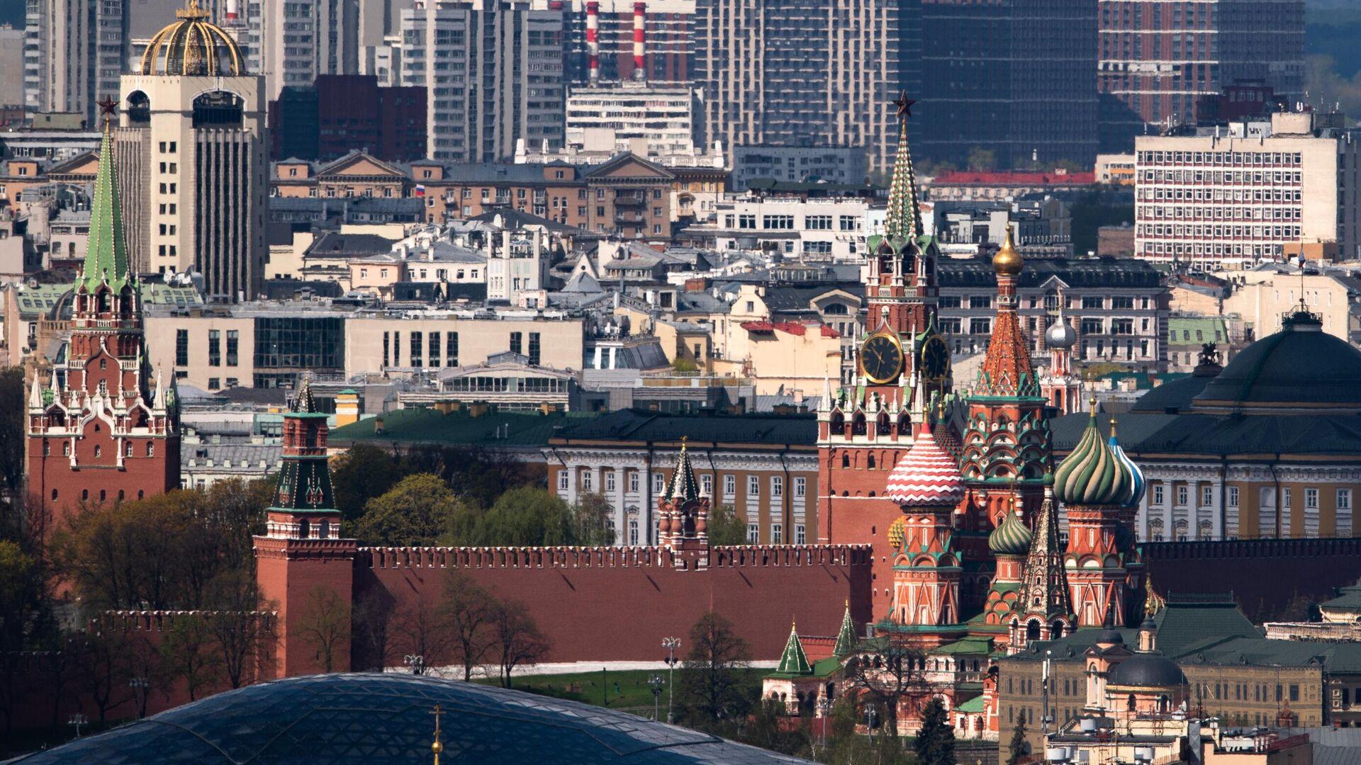 Вид на Московский Кремль - РИА Новости, 1920, 13.10.2021