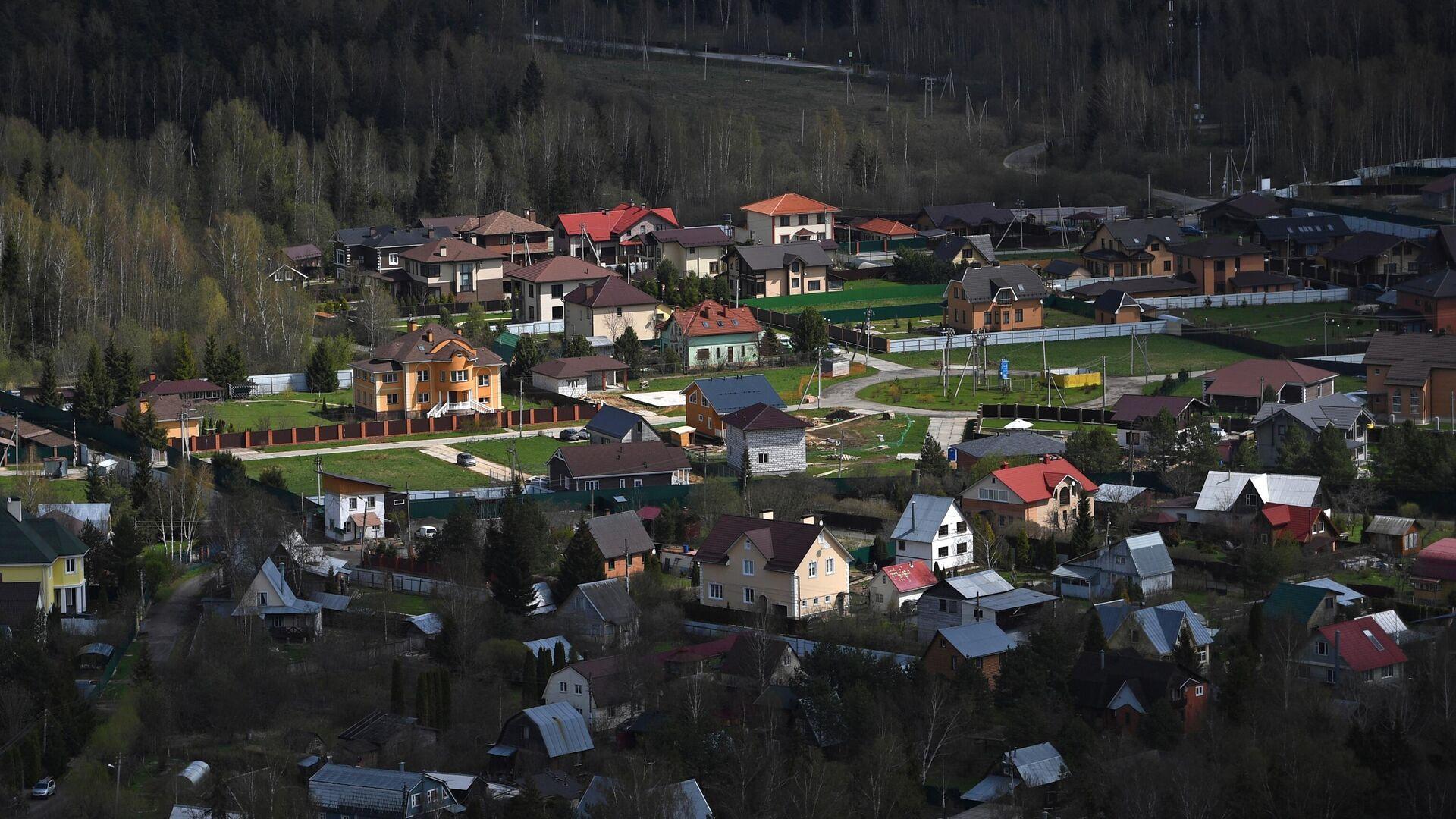 Коттеджный поселок в Московской области - РИА Новости, 1920, 25.05.2021