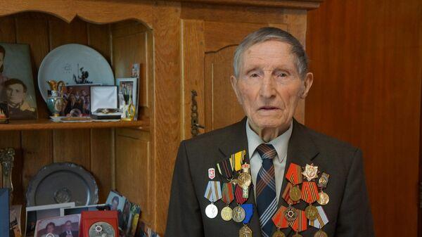 Ветеран Великой Отечественной войны Иван Башкатов