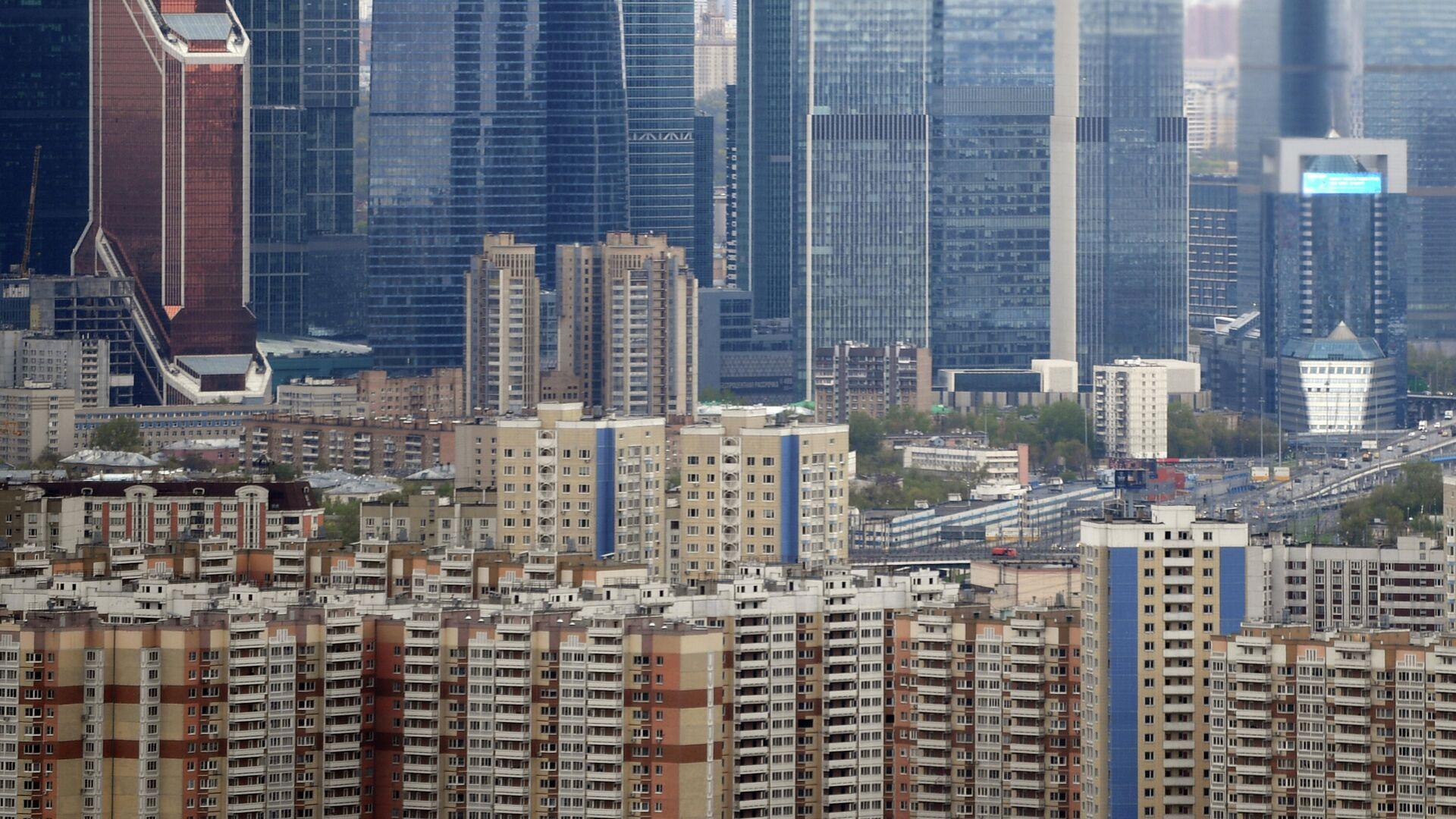 Многоэтажные жилые дома в Москве - РИА Новости, 1920, 17.05.2021