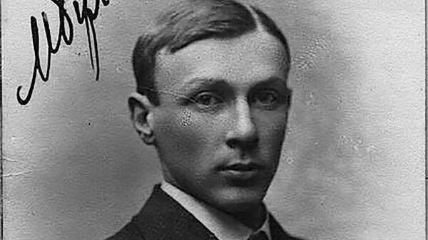Михаил Булгаков, студент Киевского университета Св. Владимира, 1916 год