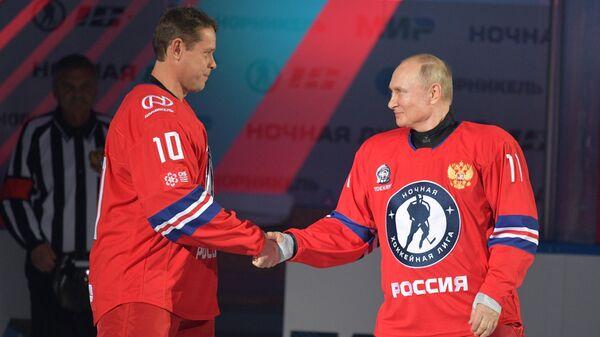 Павел Буре и Владимир Путин