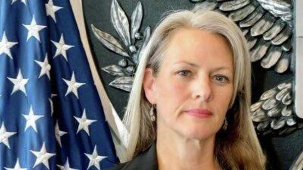 Пресс-секретарь посольства США в России Ребекка Росс
