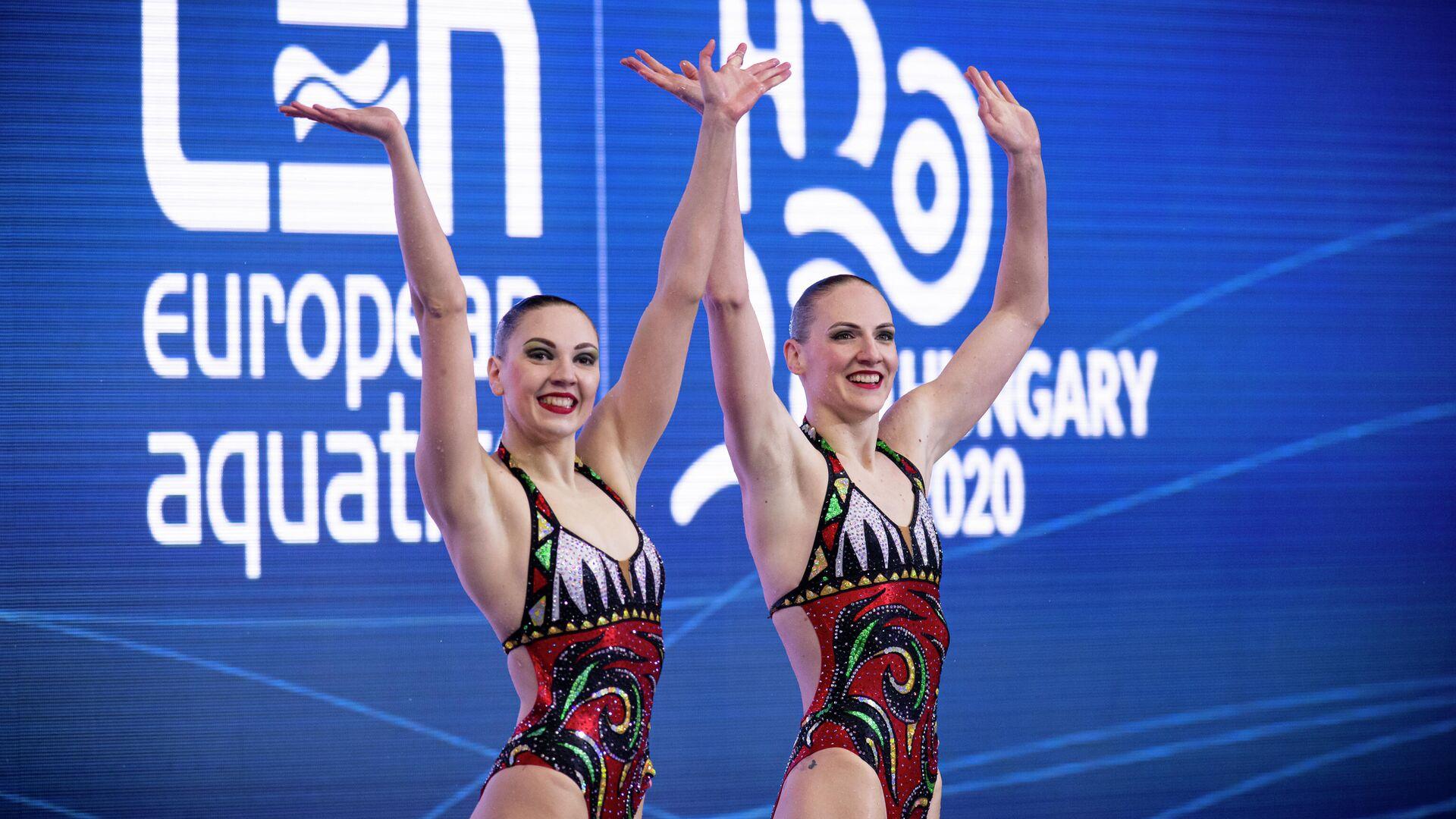 Светлана Колесниченко и Светлана Ромашина - РИА Новости, 1920, 01.07.2021