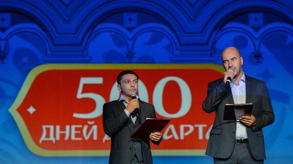 Леонид Барац (слева) и Ростислав Хаит
