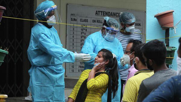 Тестирование на коронавирус в Джамму, Индия