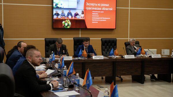 Участники круглого стола Международного салона Комплексная безопасность