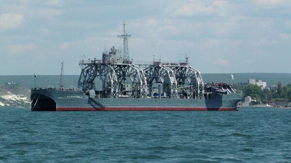 Спасательное судно-катамаран Коммуна