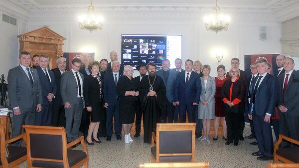 Участники заседания Совета Научно-образовательной ассоциации (НОТА)
