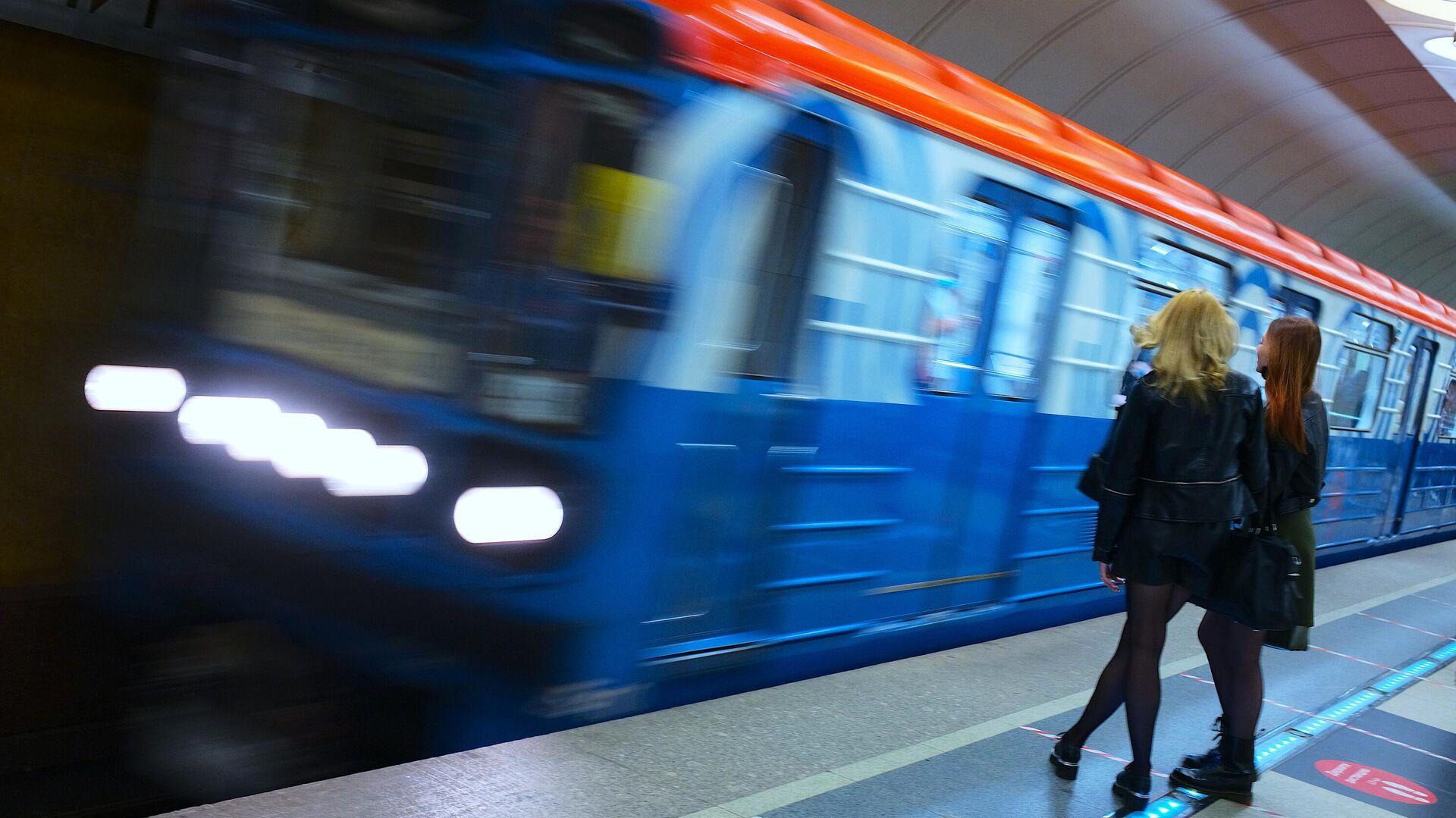 Московское метро - РИА Новости, 1920, 09.06.2021