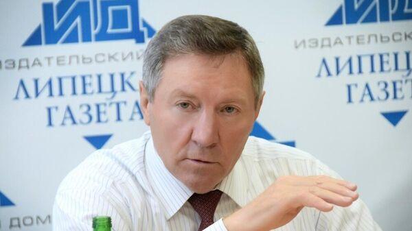 Бывший глава администрации Липецкой области Олег Королев