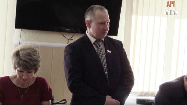 Депутат думы Артемовского округа Свердловской области Геннадий Виноградов