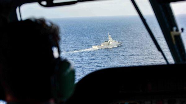 Патрульный корабль Трент флота Великобритании