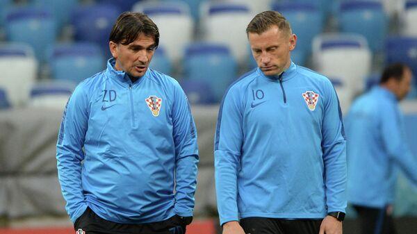 Златко Далич (слева) и Ивица Олич