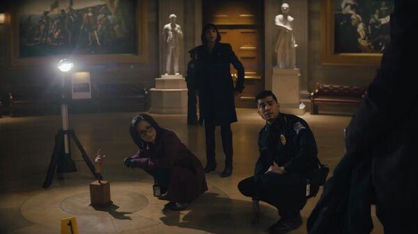 Кадр из сериала Потерянный символ