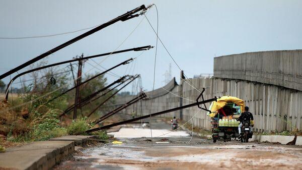 Последствия циклона Тауктае в Индии
