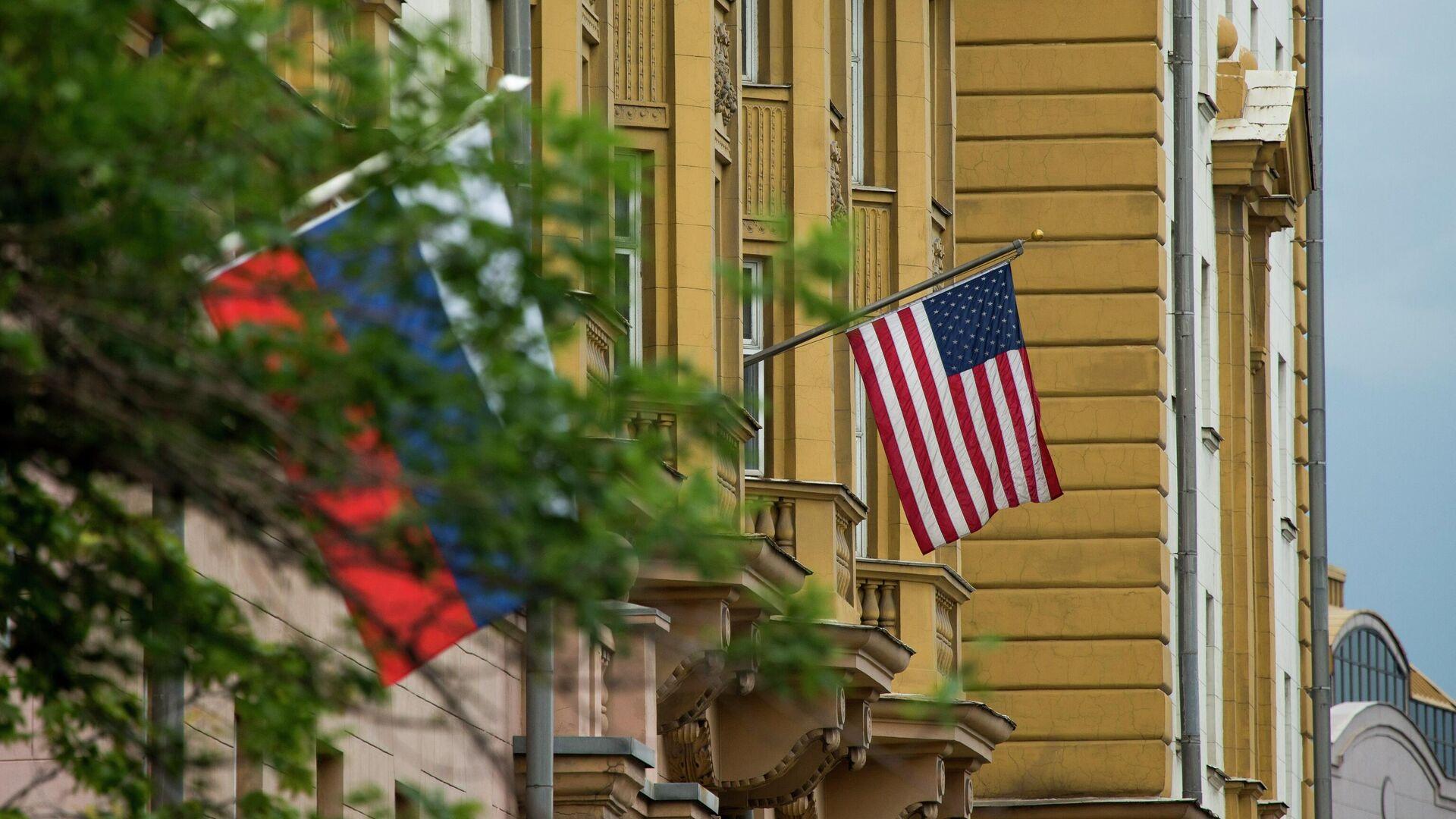 Посольство США в Москве  - РИА Новости, 1920, 25.07.2021