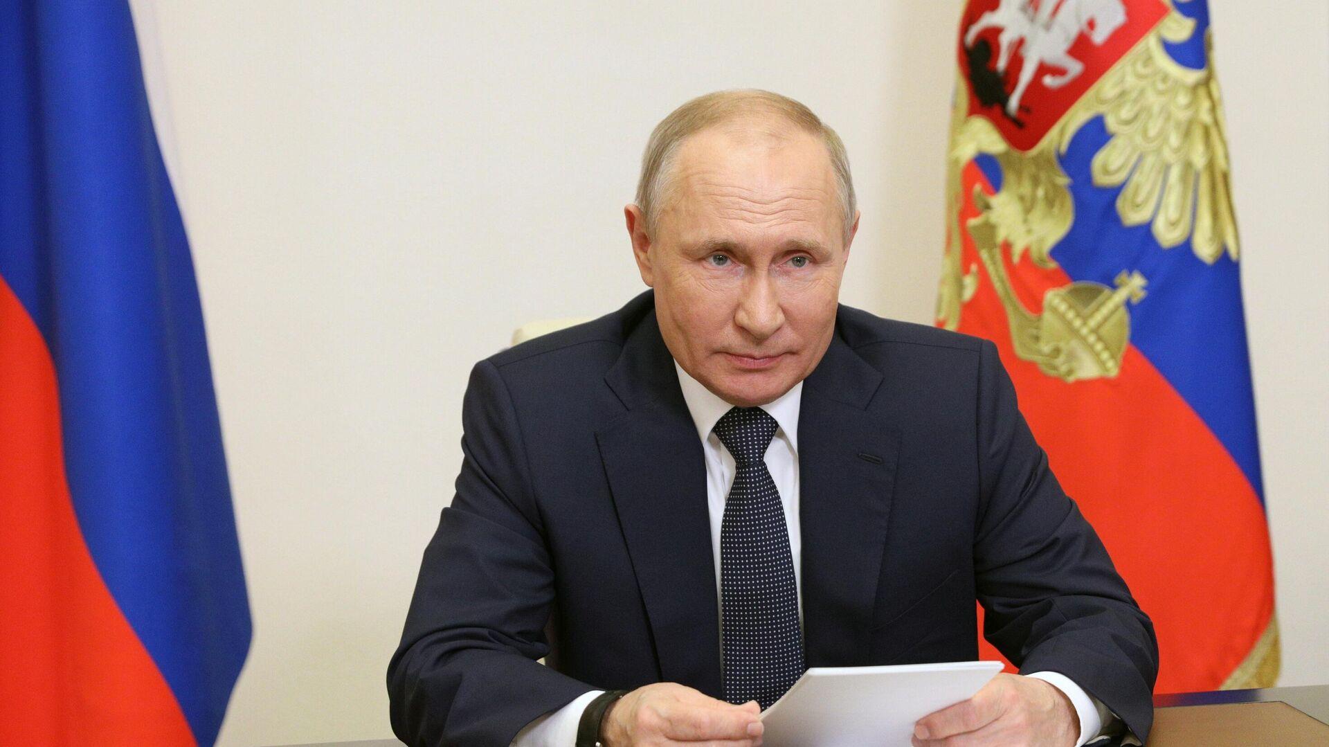 Путин призвал создать целостную систему стратегического планирования