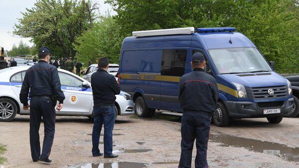 Автомобили МВД и СК Республики Беларусь
