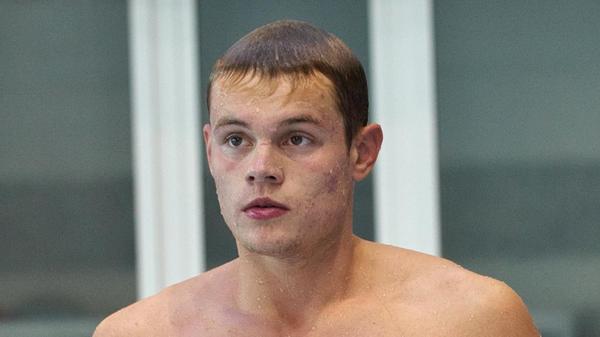 Пловец Максим Ступин (Россия)