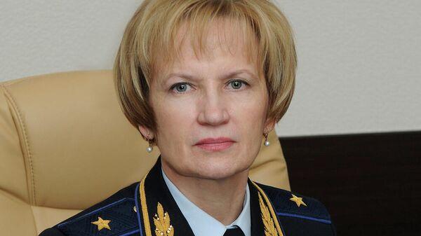 Руководитель Главного следственного управления полиции Москвы генерал-майор Наталья Агафьева