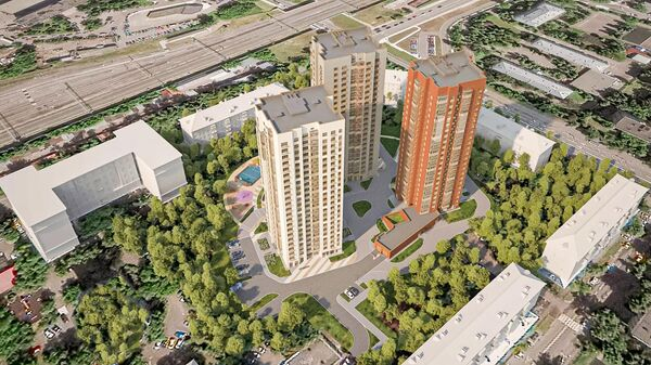 Жилой комплекс реновации в проезде Черепановых в Коптеве