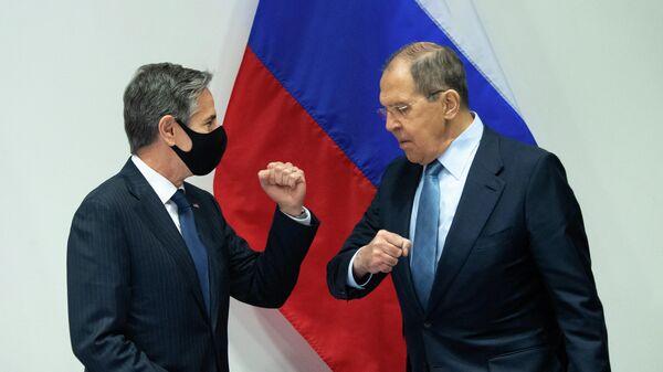Встреча Сергея Лаврова и Энтони Блинкена в Рейкьявике