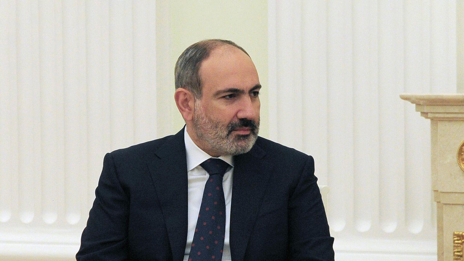 Премьер-министр Армении Никол Пашинян - РИА Новости, 1920, 17.04.2021
