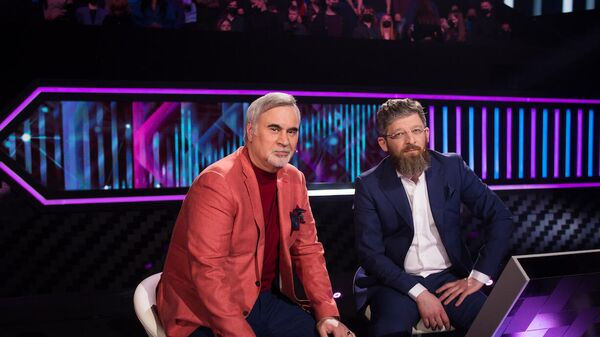 Валерий Меладзе с участником шоу Я вижу твой голос