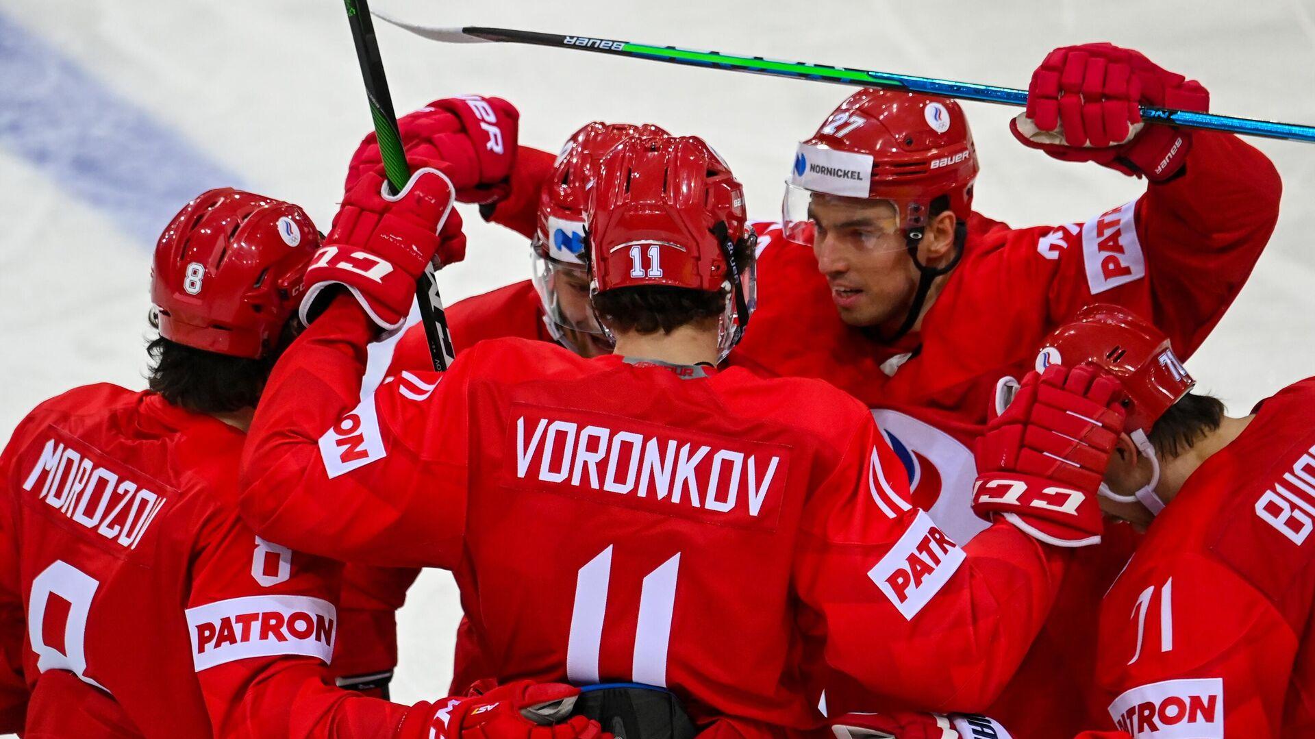 Мужская сборная России по хоккею - РИА Новости, 1920, 21.05.2021