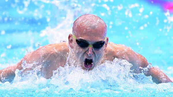 Пловец Андрей Жилкин (Россия)