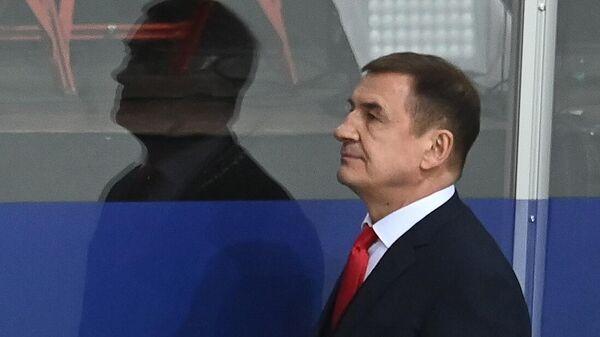 Главный тренер сборной России Валерий Брагин