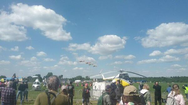 Кадры с фестиваля малой авиации Небо: теория и практика