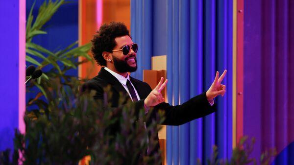 The Weeknd на церемонии вручения наград Billboard Music Awards 2021 в Лос-Анджелесе