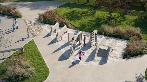 Проект детской площадки