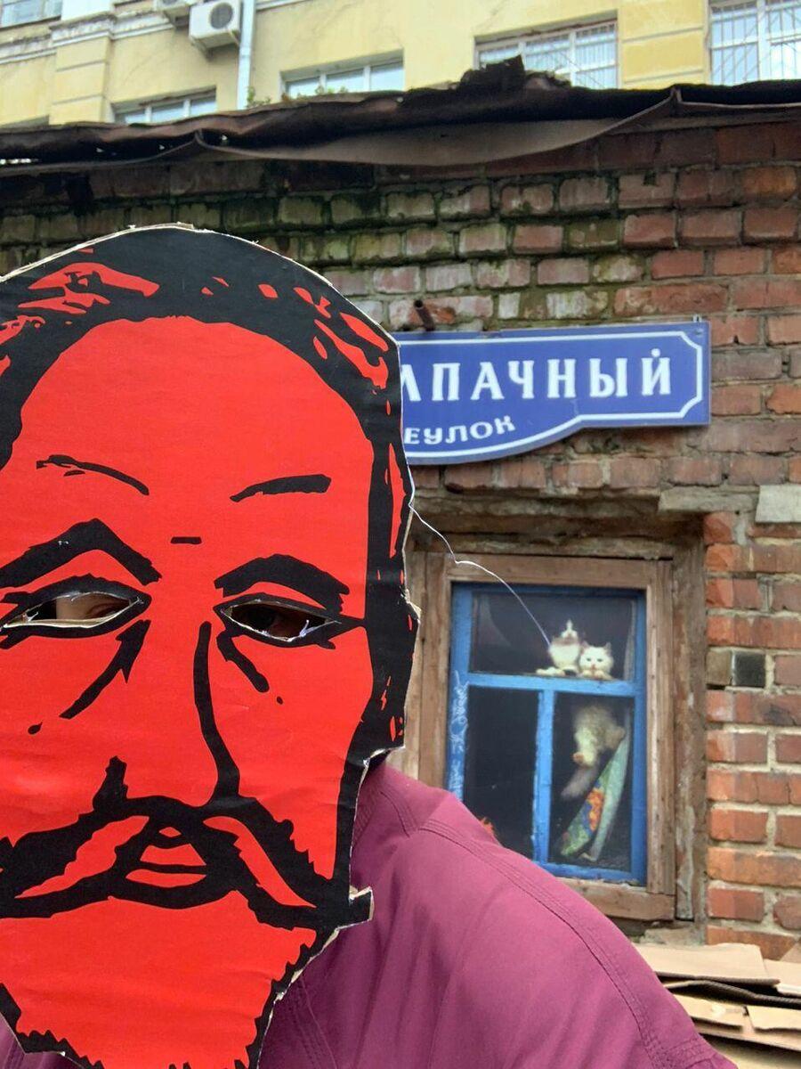 Протест жителей Ивановской горки