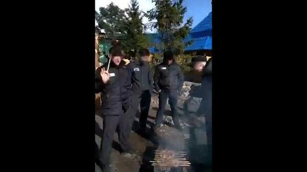 Кадры пикника в рыбинской ИК-2