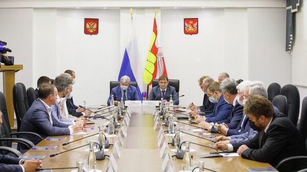 Депутаты Воронежской областной думы на встрече с губернатором