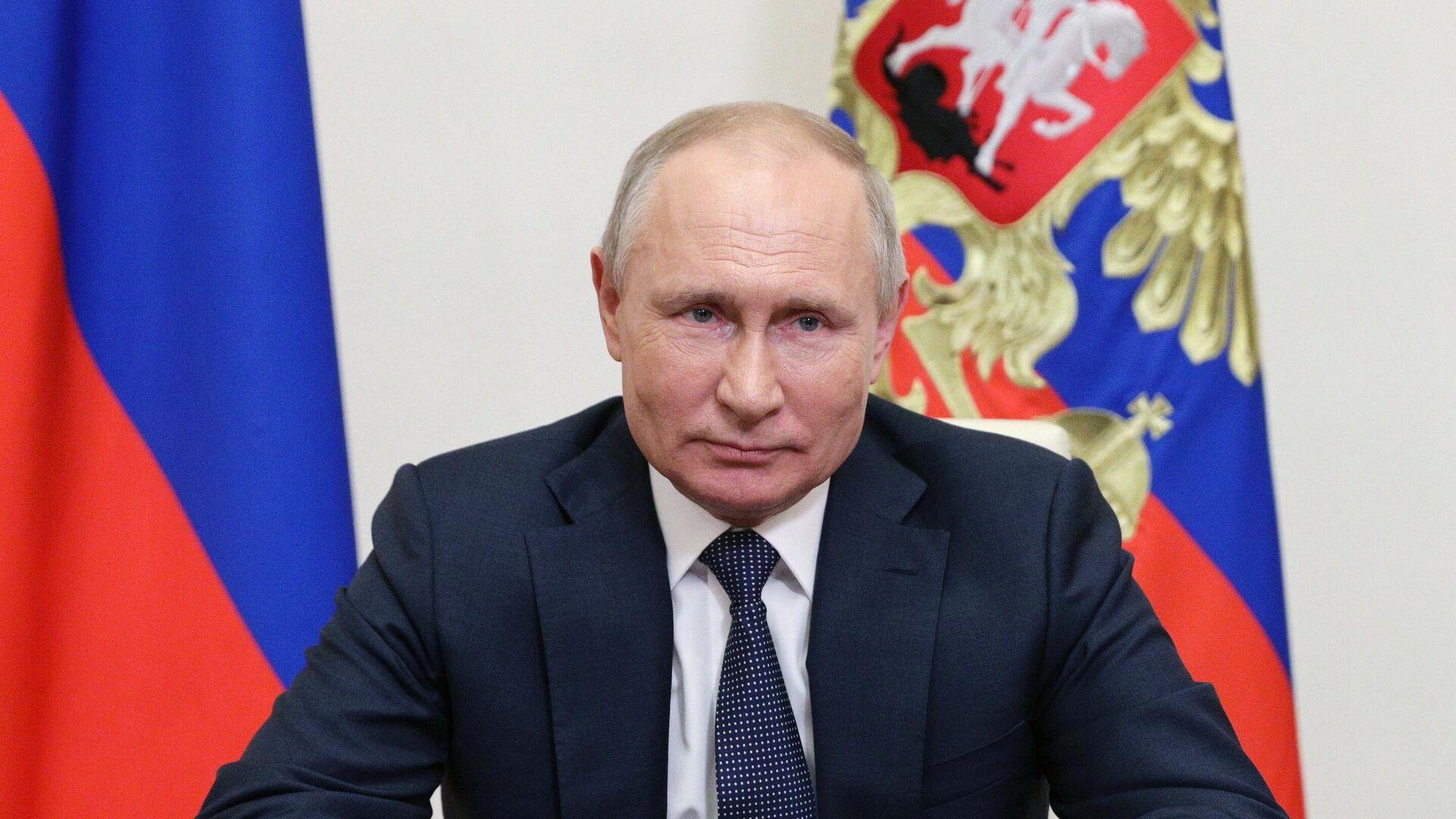 Президент РФ Владимир Путин - РИА Новости, 1920, 01.06.2021