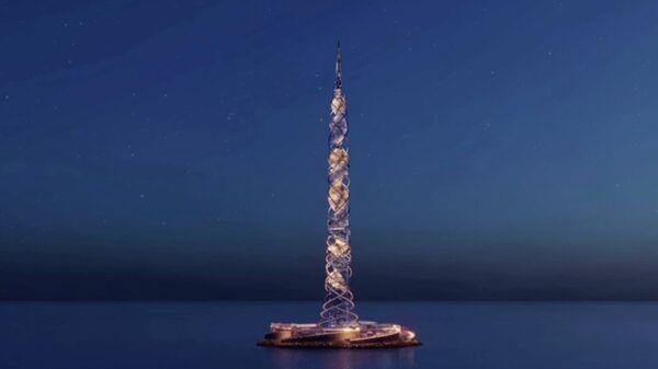 Архитектурная концепция 703 метров небоскреб Лахта Центр 2 газпром