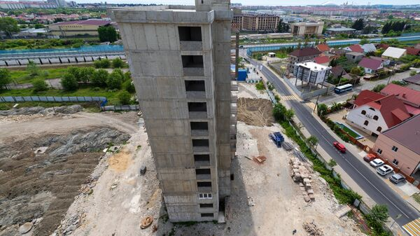 Строительство жилого комплекса в Сочи