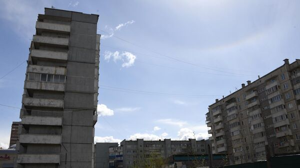 10-этажный дом в микрорайоне Северный в Чите