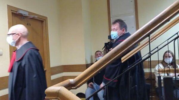 Кадры из Польского суда перед заседанием по смоленскому делу