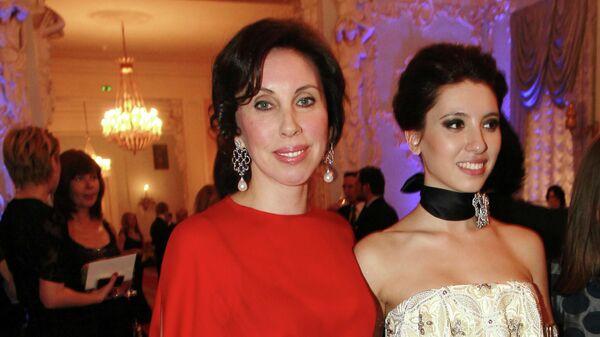 Ирина Меладзе и ее дочь Инга Меладзе