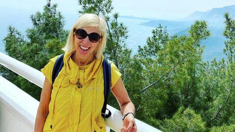 Алена Свиридова в Турции