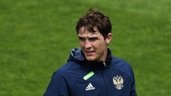 Игрок сборной России Марио Фернандес