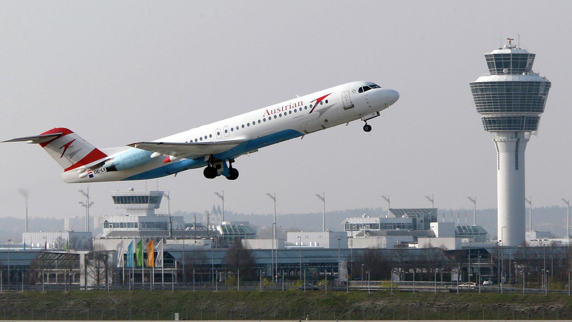 Самолет авиакомпании Austrian Airlines - РИА Новости, 1920, 04.08.2021
