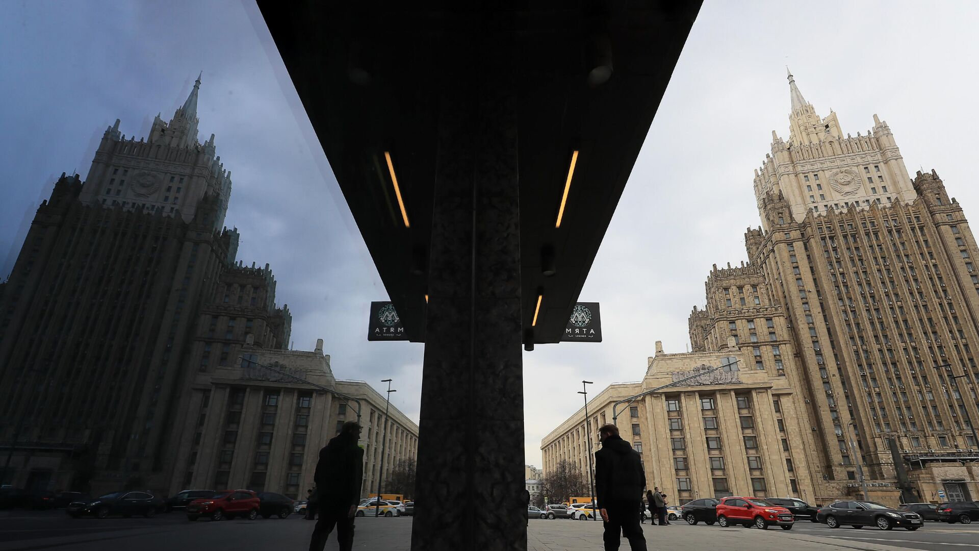 Здание МИД России в Москве - РИА Новости, 1920, 21.09.2021