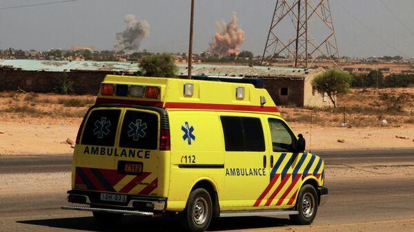 Машина скорой помощи в Ливии