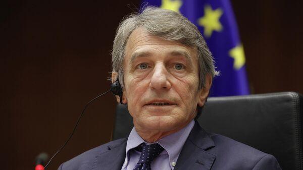 Председатель Европарламента Давид Сассоли